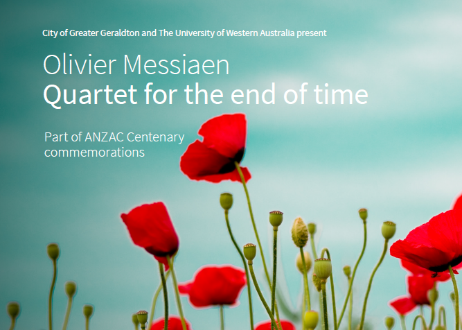 Olivier Messiaen, Quartet For The End Of Time