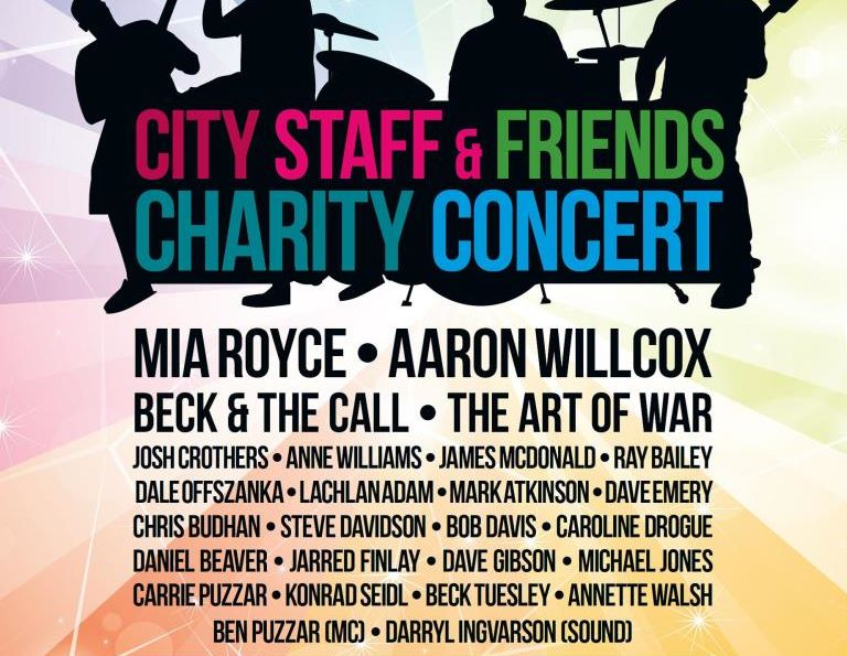 City Staff & Friends Charity Concert